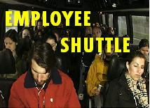 Vancouver shuttle service offers a service for company's or organizations that have limited parking at their facility. Vancouver shuttle can pick them up from these locations and deliver them to your work location